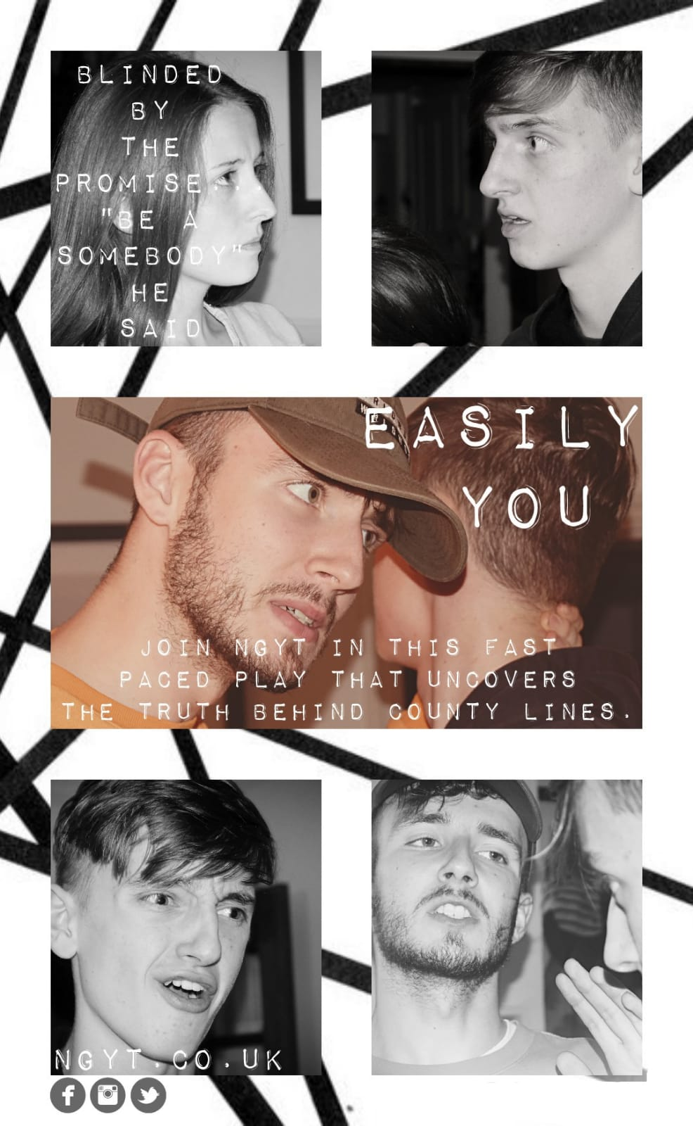 Easily you poster